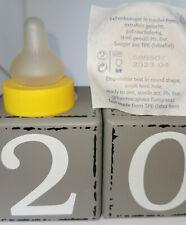 10 Nuk Kliniksauger extrafein gelocht runde Form Gr 1 Kirschsauger Standardgröße