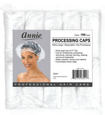 ANNIE Extra Large Processing Caps Clear 100 Caps #3541 (1 pack)