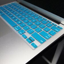 AQUA BLUE Silicone Keyboard Cover for Macbook Air 11""