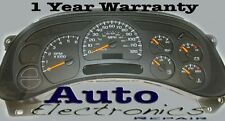 GM GMC Envoy Buick Chevy Cluster Repair Service