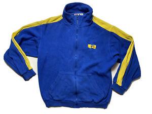 Vintage 90s Fila Mens Jacket  Size S Embroidered Logo Training Gym