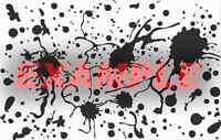 Cerakote Duracoat Blood Drops Splatter Stencil Vinyl Paint Camouflage Camo Home
