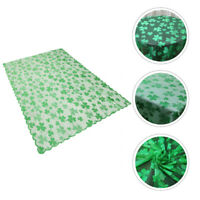 1pc Ireland's St. Patrick's Day Shamrock Party Decorative Table Cloth Table