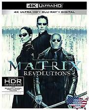 The Matrix Revolutions (4K Ultra HD Blu-ray, NO Digital Copy)
