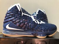 Nike Lebron 17 XVII Navy Blue Gum CD5056-400 Size 8-15 LIMITED 100% Authentic