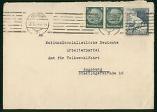 Mayfairstamps Germany Augsburg to Nationalsozialistische Bridge Mountain Cover w