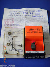 Vintage Sonotone IP-LB-1S Ceramic Cartridge -High Fidelity -Replaces Crystal NOS