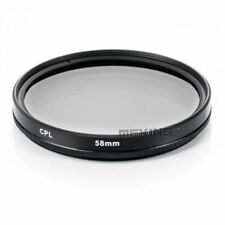 58mm CPL Circular Polarizing Threaded Lens Filter for Canon Nikon Sony Pentax