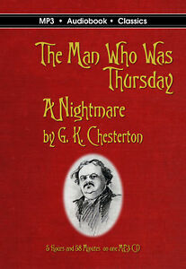 The Man Who Was Thursday -  MP3 CD Audiobook in DVD case