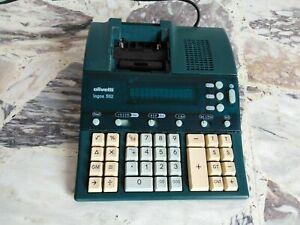 Calcolatrice da ufficio Olivetti logos 582 perfettamente funzionante