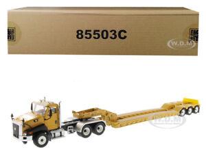 Box Damaged CATERPILLAR CT660 W/ XL 120 HDG LOWBOY 1/50 DIECAST MASTERS 85503 C