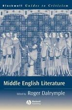 Blackwell Guides to Criticism: Middle English Literature : A Guide to...