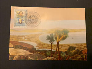 1991 — EXPLORATION OF ALBANY single stamp issue  — 1v Maxi Card