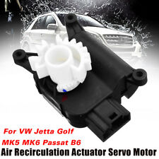 Air Heater Vent Recirculation Flap Motor New For VW Jetta Golf MK5 MK6 Passat B6