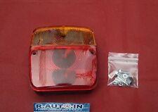 2 FANALI POSTERIORI RIMORCHI APPENDICE ROULOTTES TRATTORE rearlamp