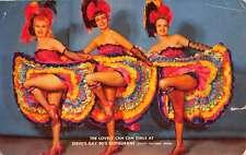 South Tacoma Washington Steves Gay 90s Restaurant Can Can Girls Postcard K63368