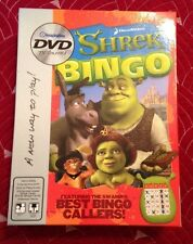 2005 SHREK AND THE GANG BINGO ON DVD BY IMAGINATION COMPLETE  ALMOST PERFECT