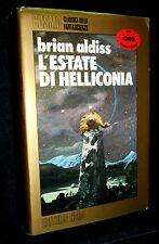 BRIAN ALDISS - L'ESTATE DI HELLICONIA - COSMO NORD ORO 1986 - 9788842903765