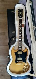 Gibson Gold 2011 SG Reissue Guitar. Gibson Hard Case Included.