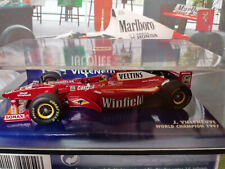 "Minichamps 1/43 Williams FW20 Mechachrome - Jacques Villeneuve ""Winfield"""