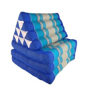 Thai Three Fold Triangular Cushion - Teal (DM28)