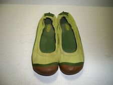 Keen Womens Bright Green Fabric Elastic Water Shoe Size 8 M US Eur 38.5