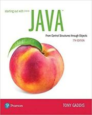 Starting Out with Java: From Control Structures through Objects (7th Edition)