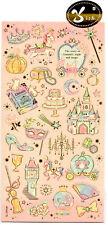 Fairy Tale Vintage Look Sticker Sheet stickers kawaii Japan Pastel
