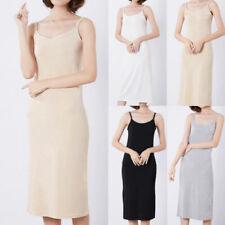 Robes à col rond sans manches pour femme