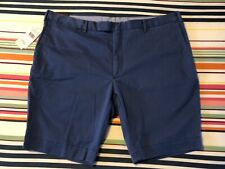 "Polo Ralph Lauren Mens Newport Slim Stretch Shorts   Powder Blue   42"" W XXL"