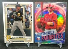 RESTOCK: 7/8/21 2021 Bowman Rookie Cards: Base and Rookie of the Year Favorites
