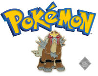 Official Pokemon Collector Pin: Entei
