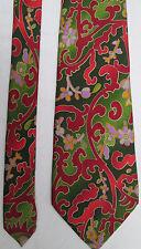 -AUTHENTIQUE cravate cravatte CHRISTIAN LACROIX 100% soie  TBEG  vintage