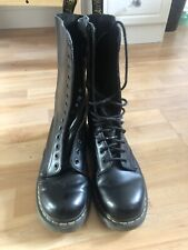 Doc Martens Black Airwair 14 Eyelet Black Boots Size 5