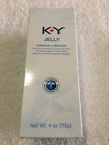 K-Y Jelly 4 Oz Single Tube Personal Lubricant