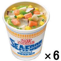 Nissin Cup Noodle Seafood Japanese Instant Ramen Noodles 77g x 6 Cups