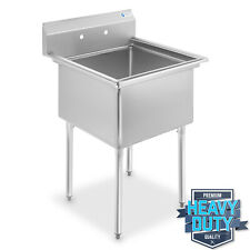 """Commercial Stainless Steel Kitchen Utility Sink - 30"""" wide"""