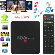 New  MXQ PRO Smart TV BOX 4-Core 1G+8G 3D Android 7.1 S905W Media Player