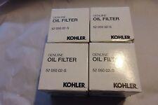 Lot of 4 OEM Kohler 5205002S, 52 050 02-S Oil Filters