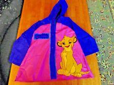 Disney The Lion King Raincoat Size 6 Simba