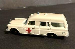 Matchbox Lesney No3 Mercedes Benz Binz Ambulance White Loose No Box