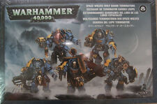 Warhammer 40K Space Wolves Wolf Guard Terminators Squad NEW
