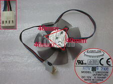 For Asus Silent Knight PWM fan with LED T129025SM DC12V 0.18AMP 4wire 4-pin EBR