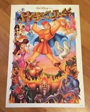 Disney D23 Expo 2017 Exclusive Animation Hercules Mini Lithograph Poster Print