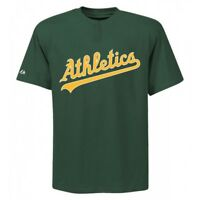 Men's Oakland Athletics Majestic Cool Base 2 Button MLB Replica Jersey Shirt