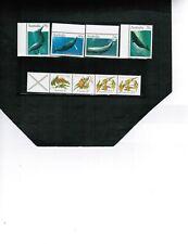 AUSTRALIA 1982 GROUP of FISH & STRIP FLOWERS cat #821++ MNH $5.00+  LOT 134