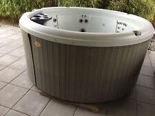 Nordic-Crown XL 6 Per. Outdoor Whirlpool Hot Tub Spa Heizung Ozon Desinfektion