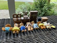 Calico Critters Lot - Figures/Dollhouse Furniture/Accessories