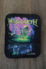 Megadeth Contaminated Sew On patch music metal hardrock vintage