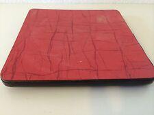 Dessous de Plat Vintage Formica Rouge   An 50's 6MAI2